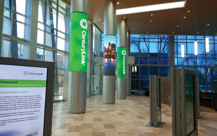 Century Link Lobby Cordeck Building Solutions