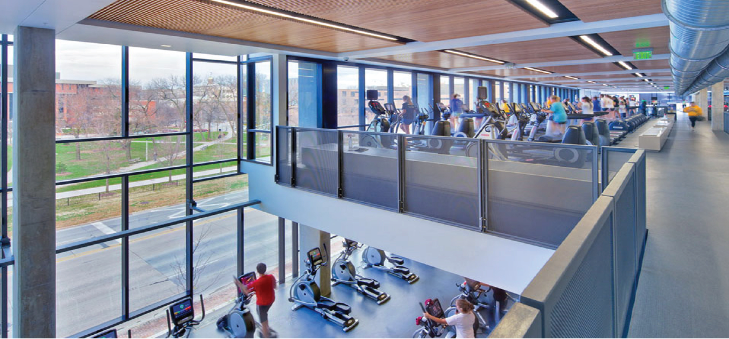 Iowa State University Rec Centerinnovativefloorsolutionscordeck