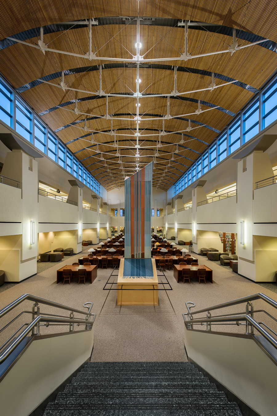 Reading Room Of The St. Cloud State University